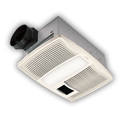 Ultra Silent Series Bathroom Fan with Light and Heater