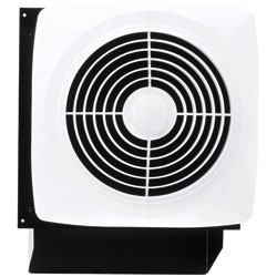 "Broan 509S   Top Seller   8"" Through Wall to Outside Exhaust Fan, 180 Cfm Utility Grade, with Switch"