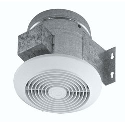 "Broan 673 Updraft Exhaust Fan 6""Duct Parts"