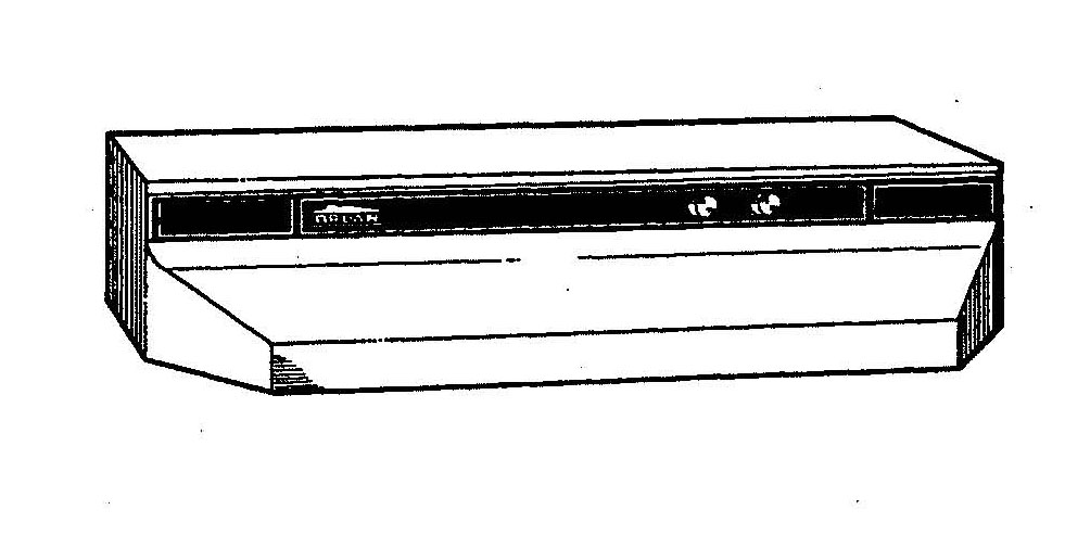 Broan 764208 Series 42 In. - Almond Range Hood Parts