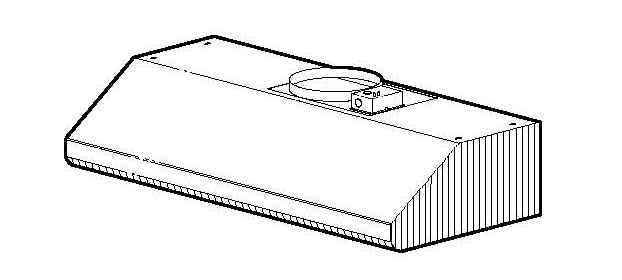 Broan E64E36SS Range Hood Parts