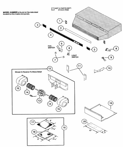 King Of Fans Replacement Parts : Nautilus bathroom exhaust fan parts get wiring diagram