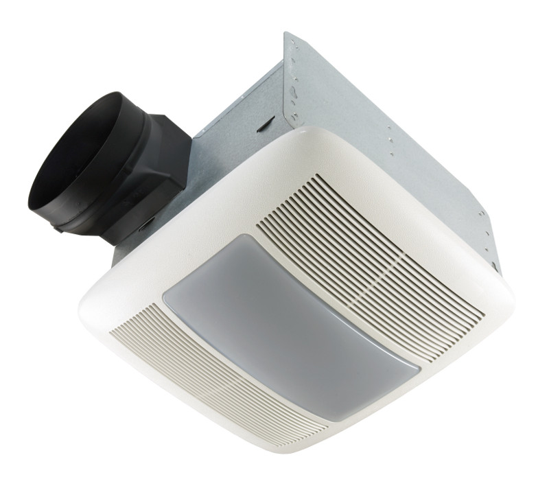 NuTone QTXEN150FLT Ventilation Fan with Light and Night Light 150 CFM 42W Fluorescent Lighting ENERGY STAR® qualified